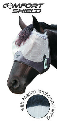 Lemieux Comfort Shield Fly Mask - Standard Turnout Field - No Ears - Horse Pony