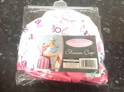 glamour touch essentials fun shower cap BNIP