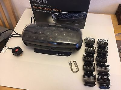 BaByliss 3034U Thermo-Ceramic Fast Heat Rollers In Black 20 Hair Styling Curler