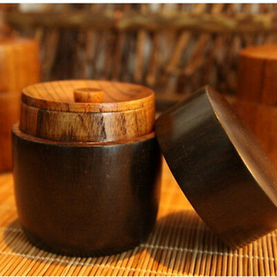 Japanese Wooden Lacquer Ware Tea Caddy Tea Box Chaire Container Tea Ceremony