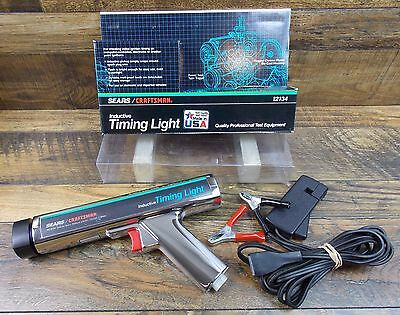 Vintage Sears Craftsman 161 2134 Inductive Timing Light Usa