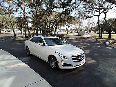 2016 Cadillac CTS Luxury Sedan 4-Door Cadillac CTS 3.6 Luxury Collection with Navigation, Backup camera ct6 xts ats