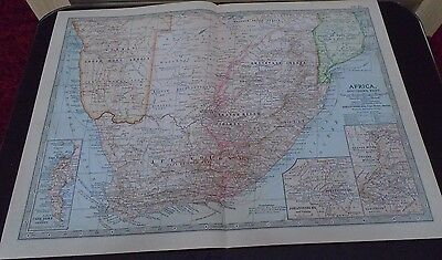 Map 1903 Britannica Africa Southern Part