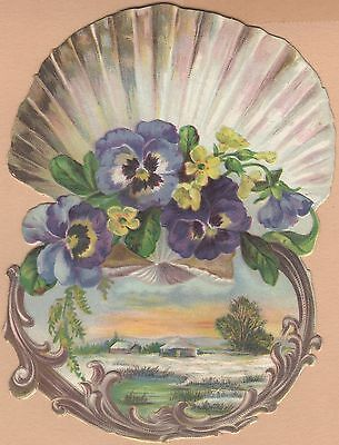 Victorian Trade Card-Centennial American Tea Co-New Haven, CT-Sunset or Sunrise