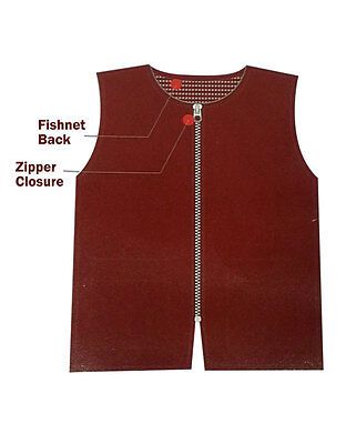 Barber Vest – Red, 6 Size Available - Barber Supply