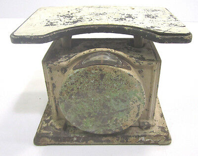 Vintage Cast Iron Family Medical Scale Early 1900s Up To 260 Pounds