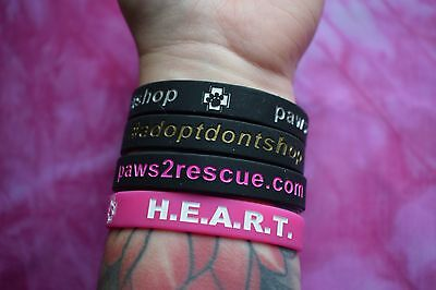 Paws2Rescue Wristbands