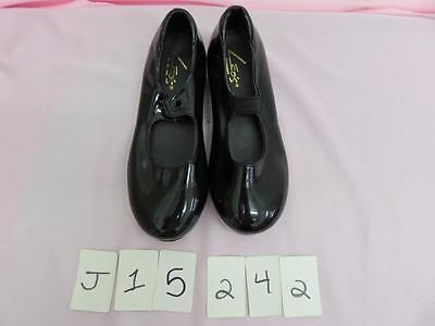 Dance Shoes Tyette Tap Black Student MANY KIDS Sizes Leo's great for Class