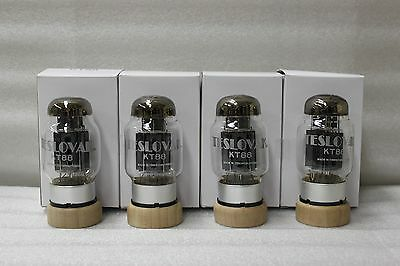 KT88 Teslovak New Quad Fully Match GM and Current 24 Hr Burn-In KT-88 KT 88 Tube