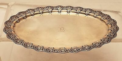 Tiffany & Co. Sterling Tray Leaf Pattern