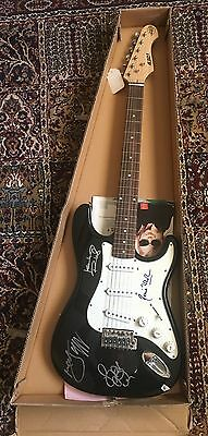 Electric Guitar signed by the Rolling Stones