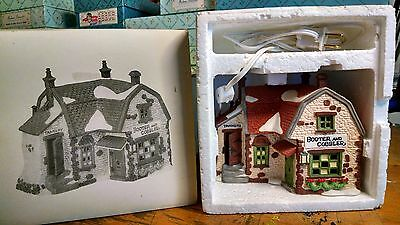 Dept 56 Heritage Village Collection Dickens Booter and Cobbler w orig. package