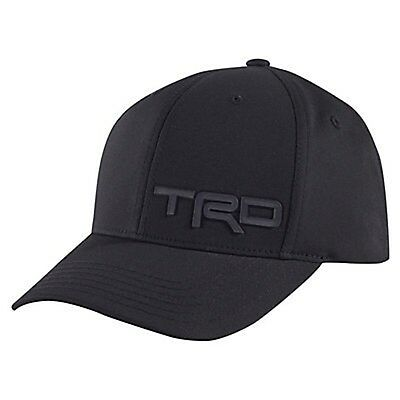 New Toyota Trd Onyx Black Adult Hat-Cap