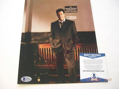 Dylan Mcdermott The Practice Actor Beckett/coa Signed 8X10 Photo