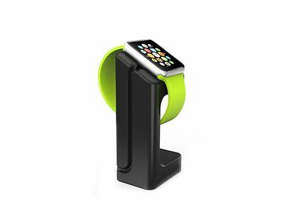 Apple Watch iWatch Charging Stand Dock Holder Black 38 42 Rack Charge Station