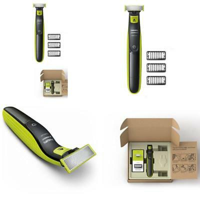 One Philips Norelco OneBlade hybrid electric trimmer and shaver, FFP, QP2520/90
