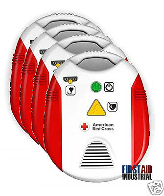 American Red Cross AED Defibrillator Trainer - AED Training 321298 - 4 Pack