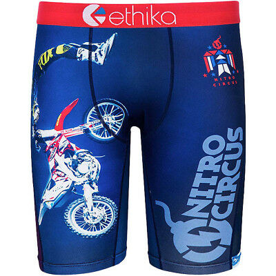 Ethika NEW Boys The Staple You Got This Youth Kids Long Motocross Underwear