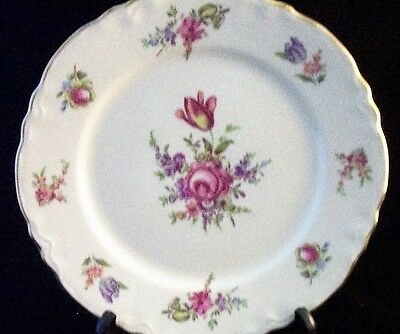Homer Laughlin Household Institute Scalloped Priscilla Salad Plates (6)