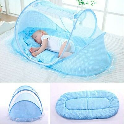 Baby Bed Crib Control Mosquitoes Summer Folding Mosquito Net Nursery Bedding Set