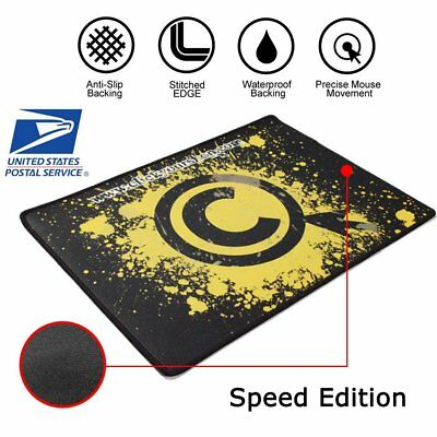 Silk Gliding Cloth Speed Edition Mouse Pad Mat for Razer Logitech Gaming US