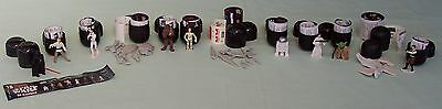 STAR WARS  Tombola  Egg Miniature Figurines & Ships Lucasfilm c1997 x 12