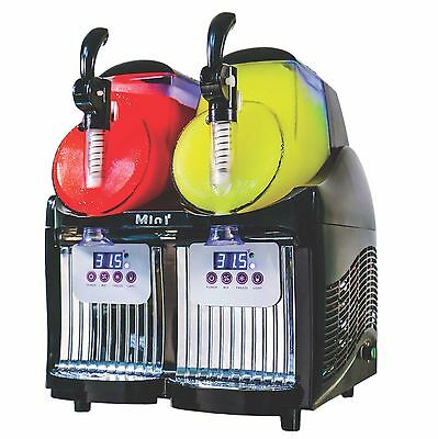 New Dual Bowl Margarita Slush Frozen Drink Machine