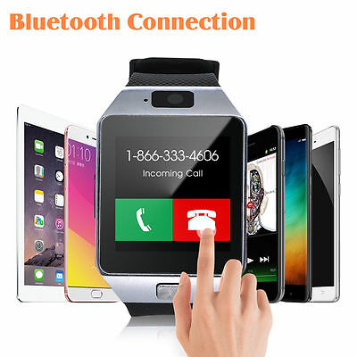 Smart Wrist Watch Phone Mate Bluetooth Camera For Android HTC Samsung AU