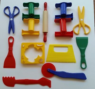 Playdough Play Doh Accessories Fun Dough Clay Toys -  21 Quality Tools