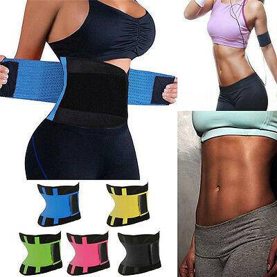 New Women Waist Girdle Slim Belt Body Shaper Tummy Trainer Training Corset Wrap