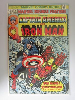 Marvel Double Feature (1973) #1 - FN/VF 7.0 - 1973
