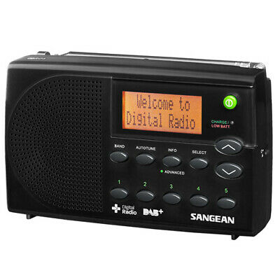 Sangean DPR-65 Portable Digital Radio with AUST SANGEAN WARRANTY