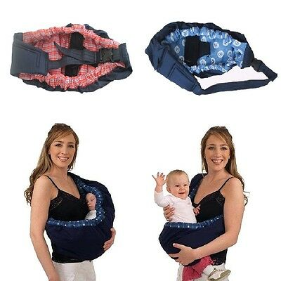 Baby Carrier Newborn Infant Sling Wrap Breastfeeding Papoose Nursing Pouch UK