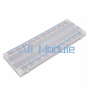 MB-102 MB102 Breadboard 830 Tie Point Solderless PCB Bread Board For Arduino AM