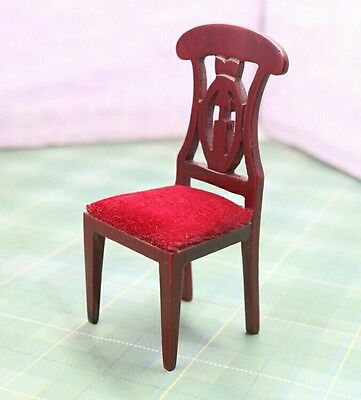 Doll house chair furniture piece 1:12 scale
