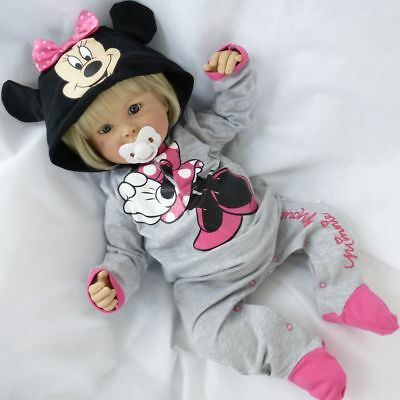 NEU | Strampler Minnie Mouse grau | Disney Baby | 0-12 Monate | 56 62 68 74 80