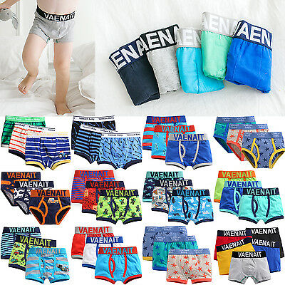 "Vaenait Baby Kids Boys Boxer Brief Underwear Short Set ""Pantie 40style"" 2T-7T"