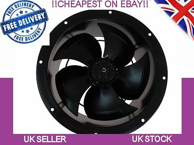 Industrial Duct Fan, Kitchen Canopy, Kitchen Extract, Extractor 250mm, 10inch