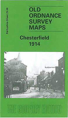 Old Ordnance Survey Map Chesterfield 1914