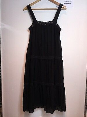 Pure DKNY Women's Black Dress, Size 4 / UK M