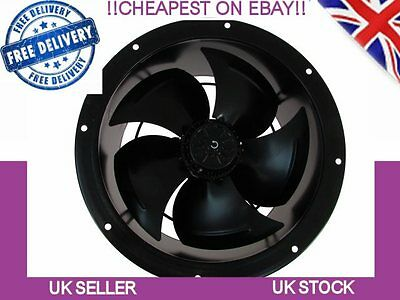 Industrial Duct Fan, Cased Kitchen Canopy Commercial Extractor 250mm, 10inch