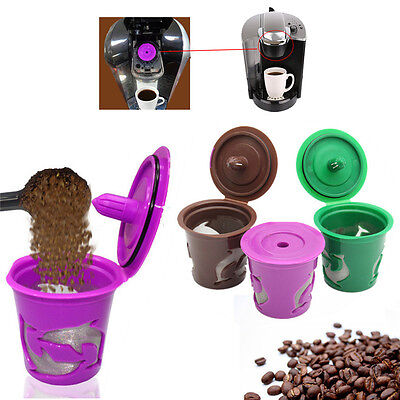 1pcs Refillable Reusable Coffee Capsule Filter K-Cup Pod For Keurig 2.0 Machines