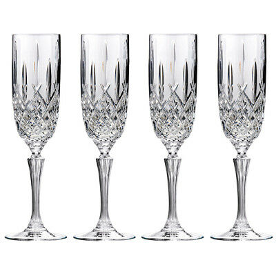 NEW Waterford Marquis Markham Champagne Flute Set 4pce