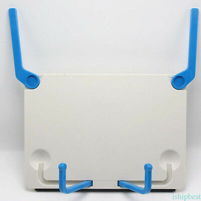 Practical Book Holder Folding Tablet Data Reading Bookend Clip Table Desk Stand