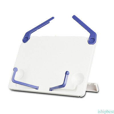 Portable Book Document Stand Reading Desk Holder Bookstand Plastic Foldable