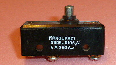 MARQUARDT 0905.0106 SWITCH Limit Switches Position Obsolete Micro Switch 4A 250V