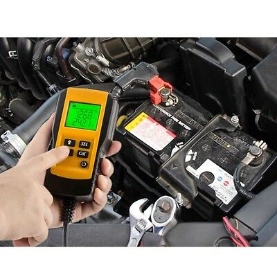 12V Car Digital Battery Tester Analyzer Auto Diagnostic Tool With Backlight LCD