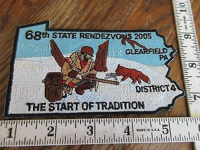 Pennsylvania Game Commission Trappers Association 2005 Convention Patch