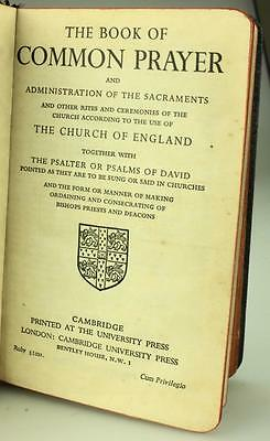 Antique Common Prayer Hymns A & M Church of England Cambridge Press 1950's SS251