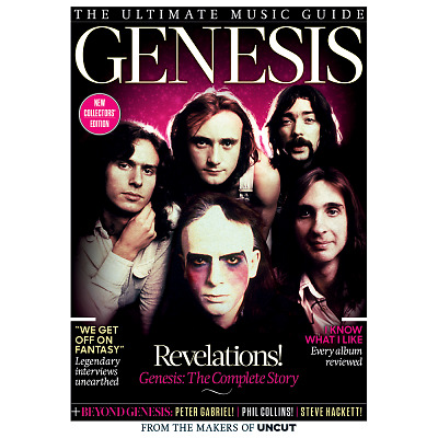 GENESIS - Uncut Ultimate Music Guide 124 Pages (2017) (NOBARCODE)